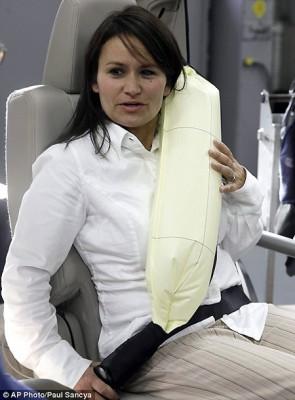 Ceinture de sécurité gonflable