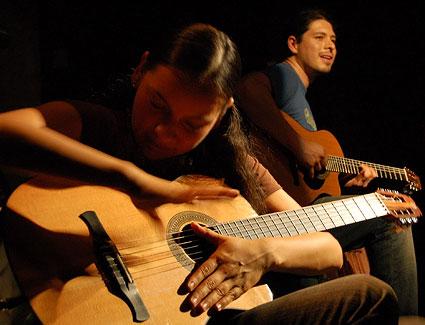 Rodrigo et Gabriela à la guitare : 'Tamacun'