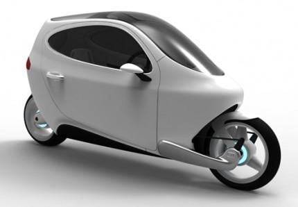 Lit C1 : une moto électrique gyro-stabilisée