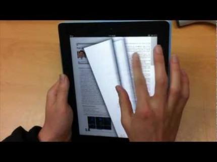 Lecture électronique intuitive
