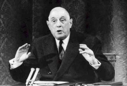 Le sionisme vu par le Général de Gaulle