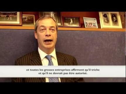 Entretien avec Nigel Farage : Pour une Europe des nations