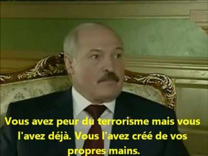 Le prsident bilorusse Lukashenko dfend Bachar Al-Assad