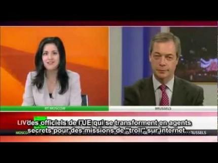 Nigel Farage : «Nous n'avons jamais voté pour que l'Europe devienne les Etats-Unis d'Europe»
