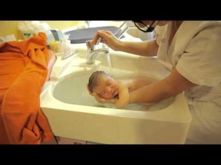 Bain Thalasso pour bébé