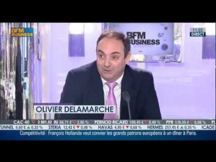 Olivier Delamarche sur le braquage bancaire de Chypre