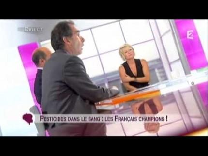 Les Français ont trois fois plus de pesticides dans le sang que les Allemands et les Américains