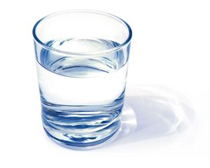 Le verre d'eau