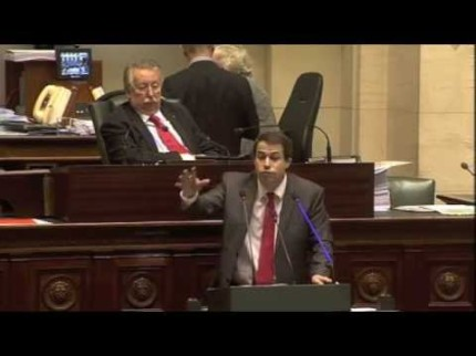 Laurent Louis – Ses « adieux » au Parlement