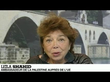 Leïla Shahid – leçon de journalisme à France 24