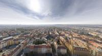 Un panoramique de Prague en 18 gigapixels